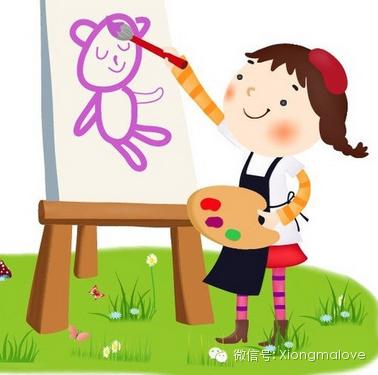 卡通小人故事简笔画