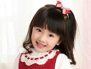 可爱小女孩高清壁纸图片-花环女图片