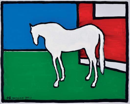 我的马场-布面油画