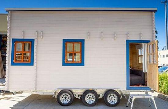 澳大利亚正刮起一阵建造移动式迷你住宅(tiny house)的