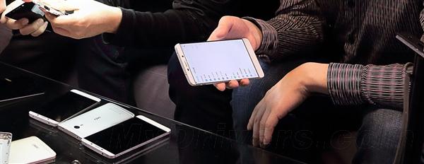 乐视超级手机高清大图曝光:屏幕太惊艳了