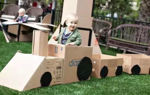 旧纸盒手工制作汽车立体