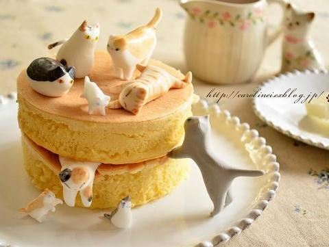 日本甜品大全_日本主妇神了!猫咪也能做甜点?