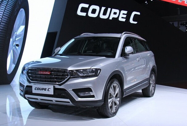 长城汽车哈弗coupec定名h6coupe于2015年上海车展昂科雷cxl5galvbed图片