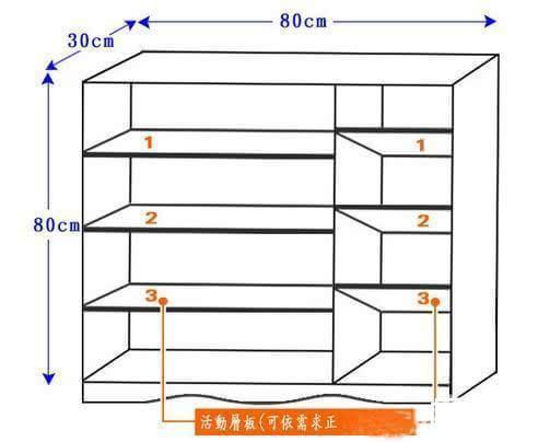 鞋柜尺寸是多少,鞋柜标准尺寸是多少,鞋柜内部尺寸是多少,鞋柜高度