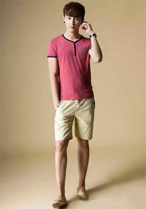 25岁成熟男人夏季穿衣示范搭