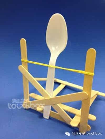 棒冰棍手工制作椅子