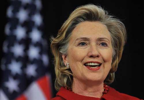 """美国前""""第一夫人""""希拉里・克林顿"""