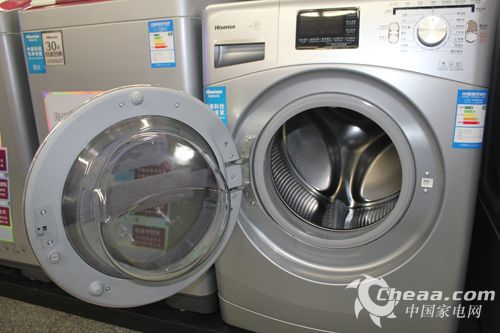 海信XQG90-A1288FS洗衣机舱门