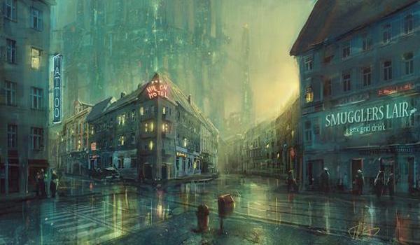 下雨天唯美意境图片图片