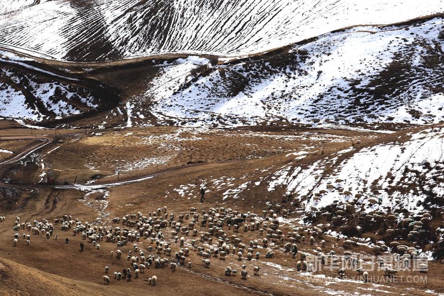 【大美甘肃】祁连山冰雪消融 风景如画(高清组图)