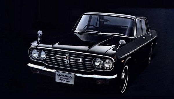 4代车型14款LOGO 丰田皇冠60年发展历史高清图片