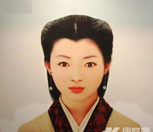 中国古代四大美女复原图图片
