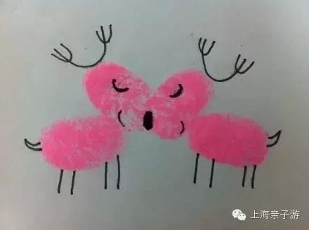 简单好玩的儿童手印画 指印画图片