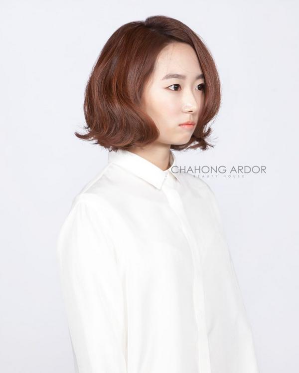 2015最潮韩式女生发型图片