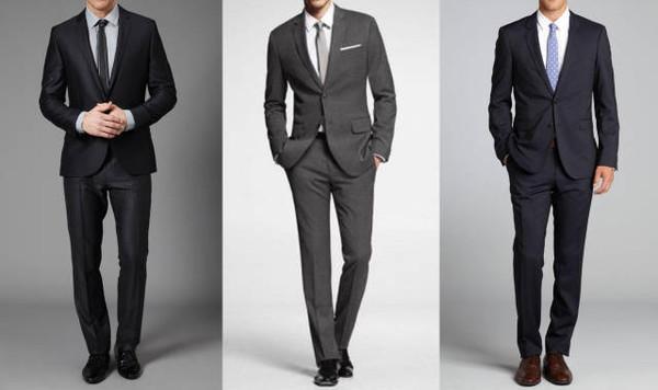 巧妙搭配西装 衬衫和领带