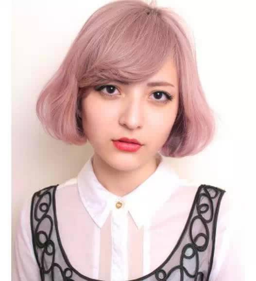 时尚女士短发波波头发型,修脸减龄两不误
