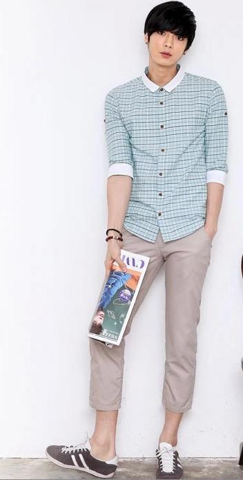 男生衬衫怎么穿显阳光帅气呢