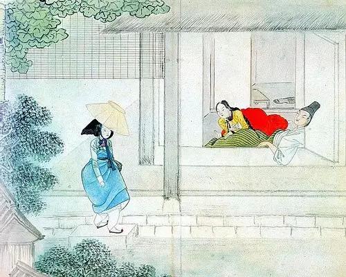 关于朝鲜的那些风俗画图片