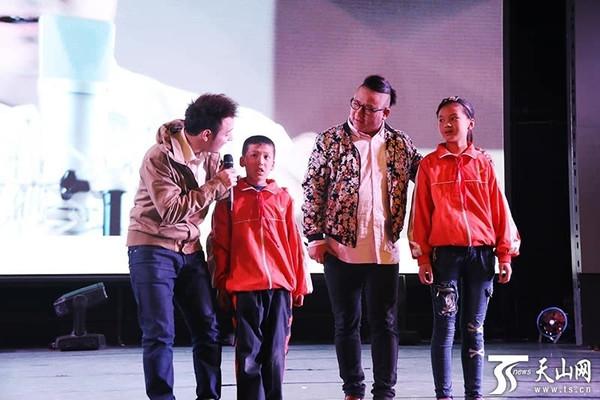 鲁冰花关爱留守儿童公益计划在新疆启动