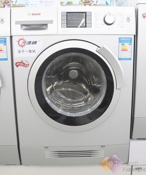 卖场实拍:博世WVH28468TI洗干一体机