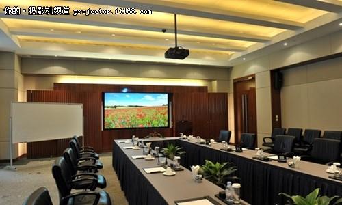 华为现代会议室改造项目高清图片