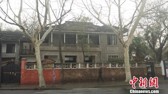 图为位于浙江杭州的蒋经国故居。 沈老师供给 摄