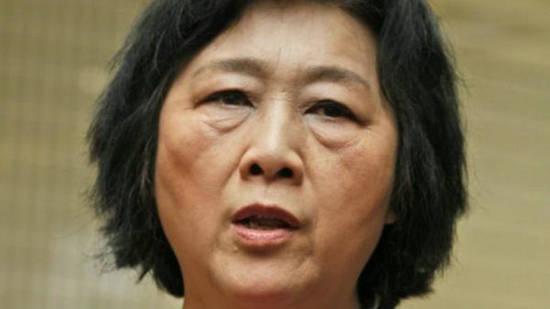原文配图:71岁女记者高瑜为境外非法提供国家秘密.
