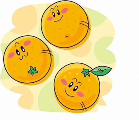 橙子卡通图片大全