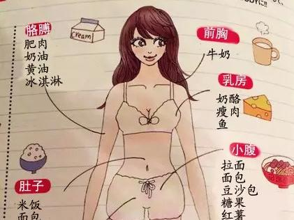 胖女孩儿卡通图片