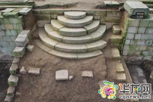 遗迹考古现场。 重庆市文明遗产研讨院供图 华龙网发