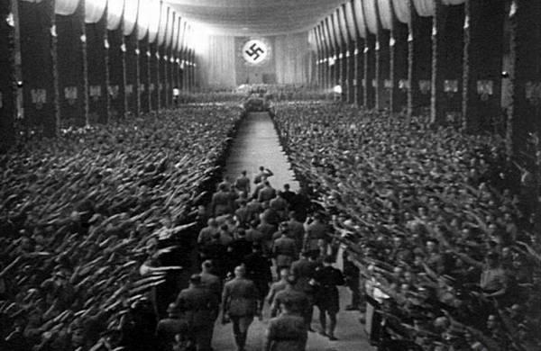 德国纳粹会议。