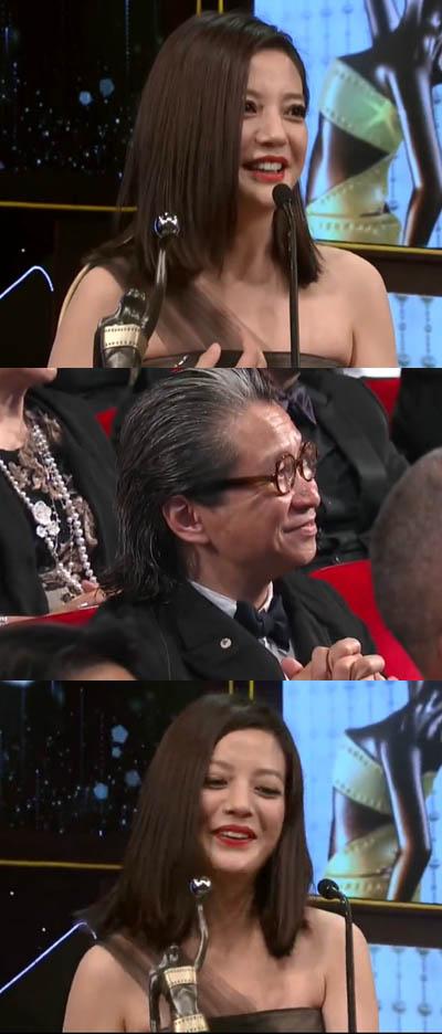 赵薇凭《亲爱的》首夺金像影后