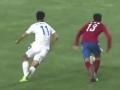 中超视频-阿布来提穿裆过人1V3 杂耍做球遭铲截