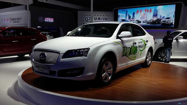 纯电动汽车 2015上海车展首发高清图片
