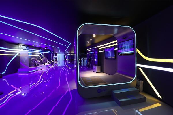 雪佛兰展台智能化互动体验中心图片