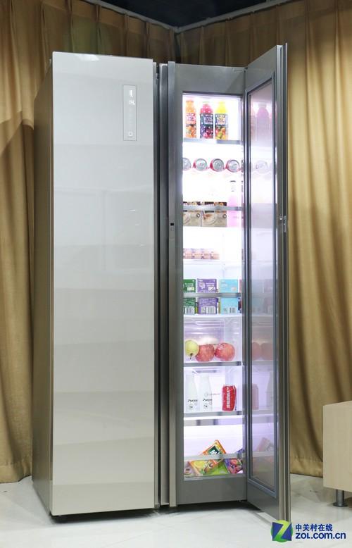 卡萨帝翊动叠门冰箱叠门全貌
