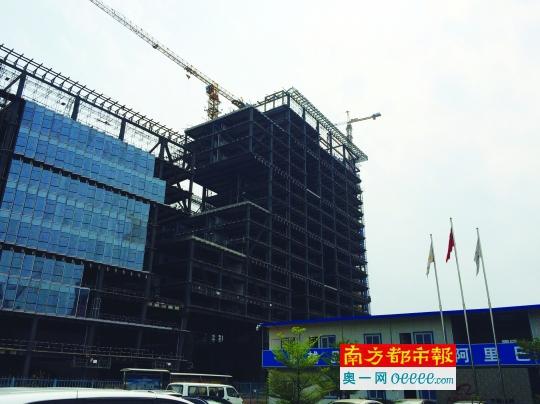 发作纠葛的阿里巴巴深圳大厦。 南都记者 郭锐川 摄