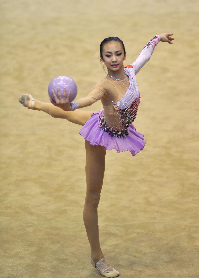 个人选手冠军赛风筝体操单项球操v个人在西安举行,辽宁队成年尚蓉获得怎么接个人线图片