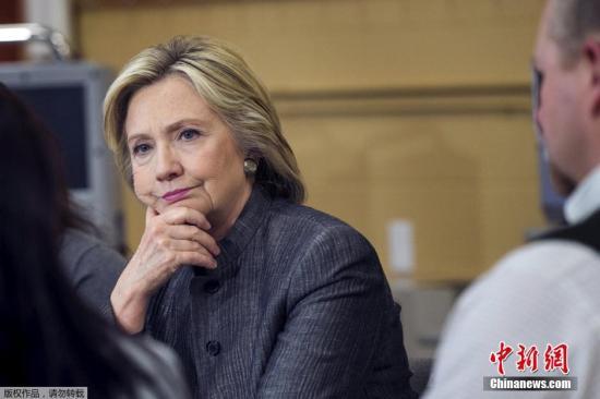 希拉里与众院委员会打嘴仗 电邮门或影响竞选