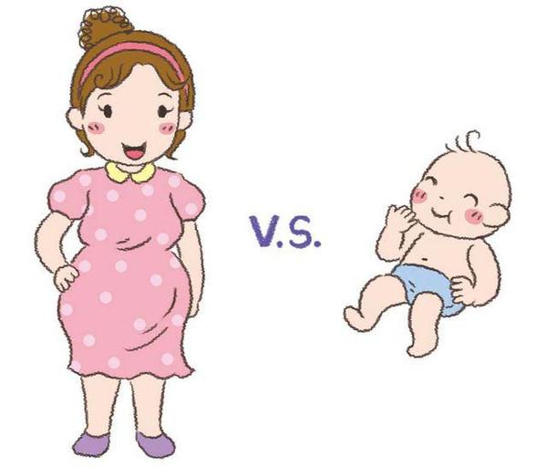 妈妈卡通_胖妈妈卡通图片头像