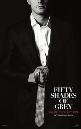 《五十度灰》海报