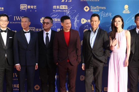 王学圻亮相北京国际电影节 新作《赤道》霸气依旧