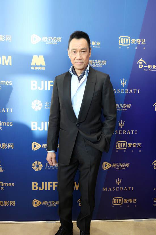 王学圻亮相北京国际电影节