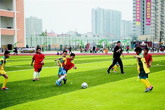 图文:小学生运动会