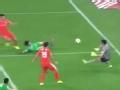 中超集锦-野牛梅开二度郑铮破门 鲁能3-0国安
