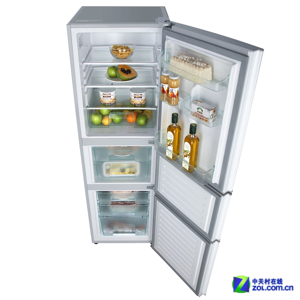 海尔BCD-225SFM冰箱内部