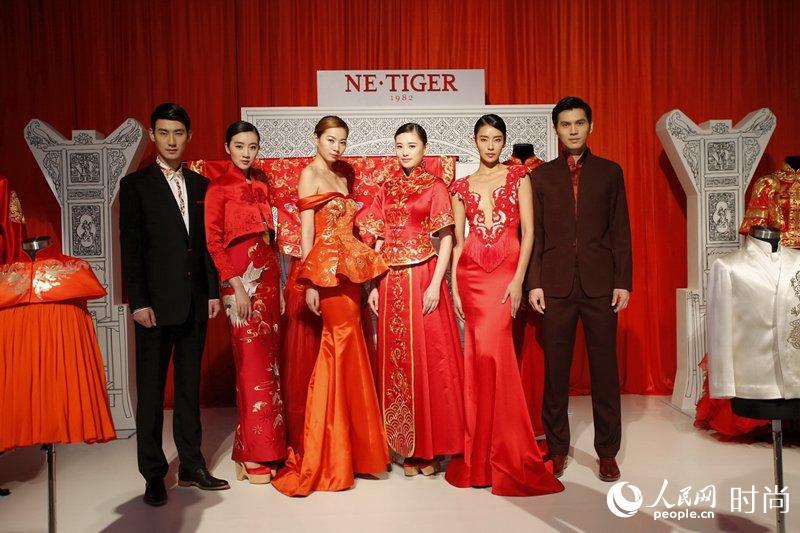 现场更有引领潮流的婚尚杂志《时尚新娘》,时尚婚礼策图片