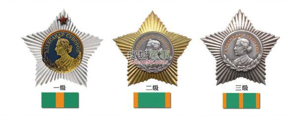 图为苏沃洛夫勋章。