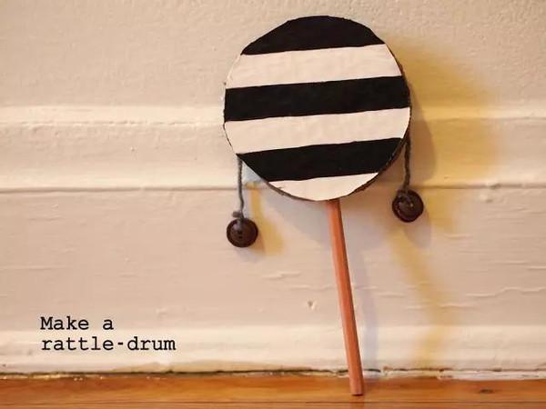 【資源篇】幼兒園樂器diy手工制作及新鮮玩法 ,太棒了圖片
